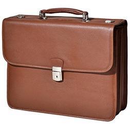 McKleinUSA ASHBURN 15144 Brown Leather Laptop Case