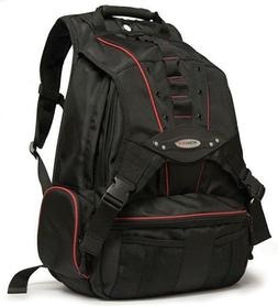 Mobile Edge Black w/Red Trim Premium Large Size 17.3 inch PC