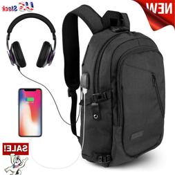 ONSON Anti Theft Business Laptop Backpack USB Charging Port