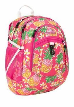PInk High Sierra Fatboy Backpack Flamingo/Pink Pineapple