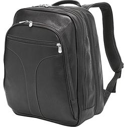 Piel Leather Checkpoint Friendly Urban Backpack, Black, One