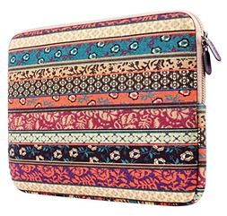 Plemo 15-15.6 Inch Bohemian Style Laptop Sleeve Case for Mac