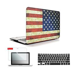 Se7enline Rubberized Frosted Hard Shell Case Cover for Macbo