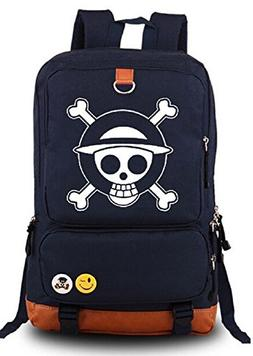 Siawasey Anime One Piece Cosplay Luminous Messenger Bag Back
