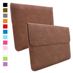 Snugg Leather Sleeve or Apple Macbook Pro 15 Inch - Brown