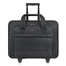 Solo Carnegie 15.6 Inch Rolling Laptop Case, Black