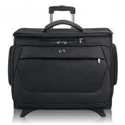 "Solo Classic 15.6"" Laptop Rolling Catalog Case, Black, CLS92"