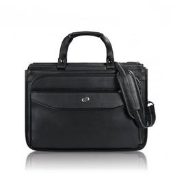 Solo Harrison 16 Inch Triple Compartment Laptop Briefcase, B
