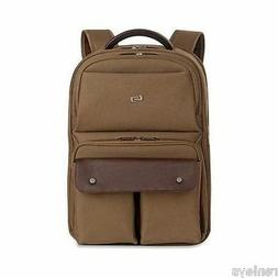 """Solo Executive Carrying Case Backpack for 15.6"""" Notebook Lap"""