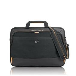Solo Focus 17.3 Inch Laptop Briefcase, Black