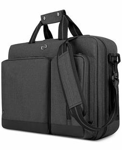 Solo Urban Hybrid Laptop Briefcase/Backpack Gray