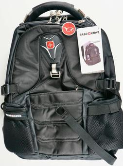 "Swiss Gear 17"" Inch Laptop Backpack Tablet Safe Durable TSA"