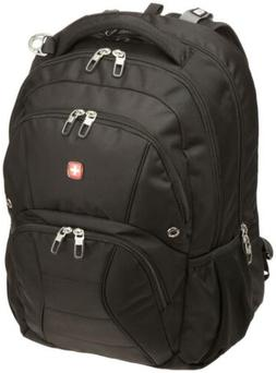 Swiss Gear SA1908 Black TSA Friendly ScanSmart Laptop Backpa