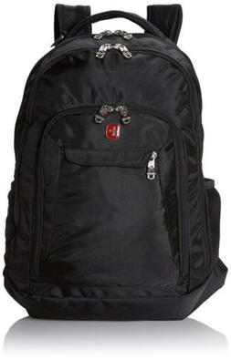 Swiss Gear SA9998 Black Laptop Backpack - Fits Most 15 Inch