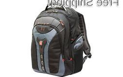 "SwissGear 17"" Gray Notebook Backpack"