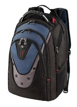 Swissgear Ibex 17-inch Laptop Backpack - Black/Blue - GA-731
