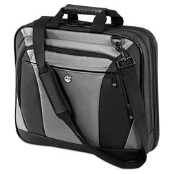 Targus CityLite Laptop Bag for 16-Inch Laptop, Black and Gra