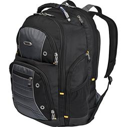 Targus - Drifter II Laptop Backpack - Gray with yellow trim