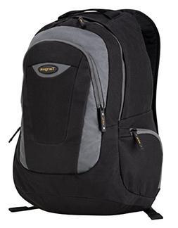 Targus Trek Backpack for 16-Inch Laptops, Black with Gray Ac