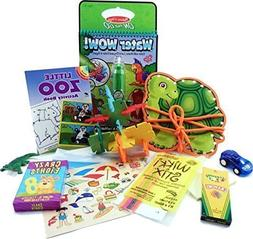 The Mini by Fun On The Fly - Travel Toy Activity Bag for Kid