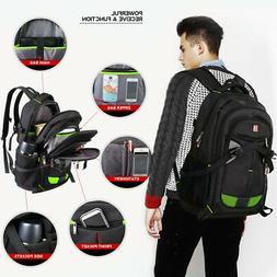 """Travel Gear ScanSmart Backpack Black Colors 17"""" Laptop Backp"""