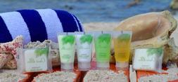 Travel Size Hotel Toiletries 25 Bar Soap, 25 Shampoo, 25 Con