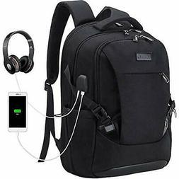 Tzowla Travel Laptop Backpack Waterproof Business Work W USB