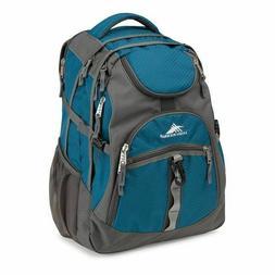 High Sierra Access Laptop Backpack – Lagoon/Slate