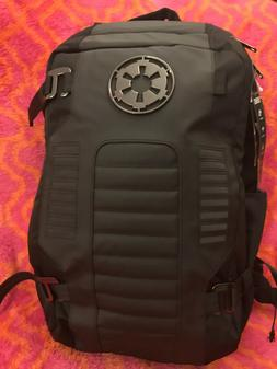 Star Wars ALL BLACK Ext. Empire Imperial Cog Built Up Backpa