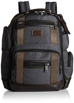 Tumi Alpha Bravo Kingsville Deluxe Brief Pack, Anthracite, O