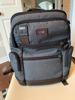 Tumi Alpha Bravo Knox Laptop Business Backpack Anthracite Gr