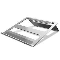 Jelly Comb Aluminum Laptop Stand: Universal Portable Foldabl