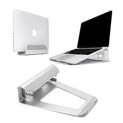 Baseltek Aluminum Vertical Laptop Stand Elevator Cooling Pla