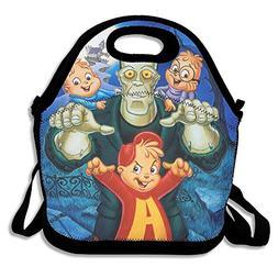 Alvin & The Chipmunks Meet Frankenstein Travel Tote Lunch Ba