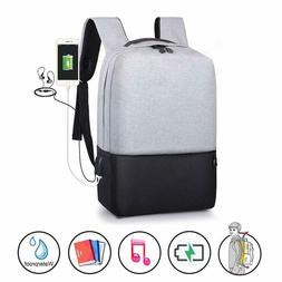 Anti-Theft Backpack Laptop Shoulder Bag Travel School Bags w