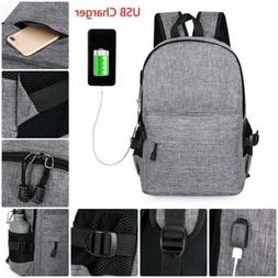 Anti-theft Bag USB Charging Travel Backpack Laptop Notebook