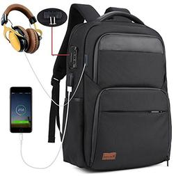 Anti Theft Business Laptop Backpack with USB Charging Port a