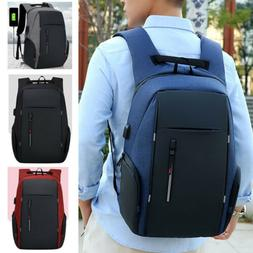 Anti-theft Large Capacity Laptop Travel Backpack USB Charge