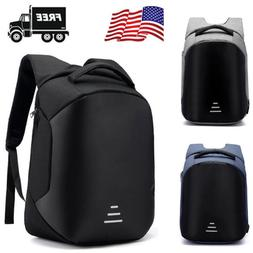 anti theft men womens laptop notebook backpack