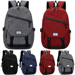 anti theft mens usb charging backpack laptop