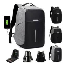 Anti-Theft Waterproof Laptop Backpack External USB Charge Po