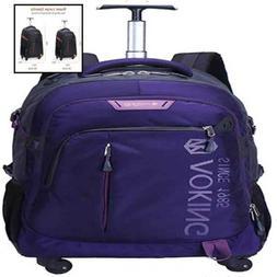 AOKING 20/22 ″ Water Resistant Rolling Wheeled Backpack La
