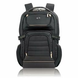 Solo Arc 17.3 Inch Laptop Backpack, Black Black