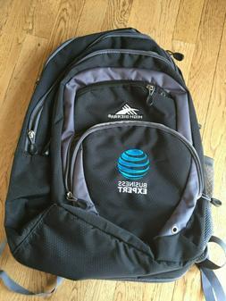 High Sierra AT&T Expert Business Laptop Backpack Bag NEW