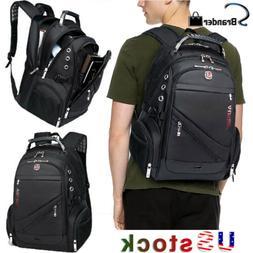 "AUGUR Men 15.6"" Laptop Backpack Travel Rucksack Bag Notebook"