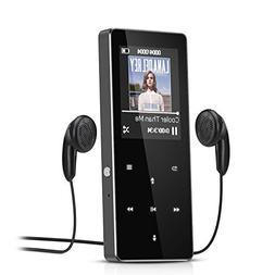 AGPTek B05 8GB Lossless Sound MP3 Player,Metal Body,1.8 Inch