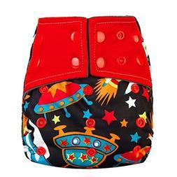 WANSHIYISHE Baby Cloth Diaper Adjustable Washable and Reusab