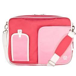 VanGoddy Light Pink Laptop Bag for HP Pavilion/ProBook/ENVY/