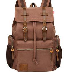 Backpack for 17 inch Laptops Vintage bag Large Backpack Scho