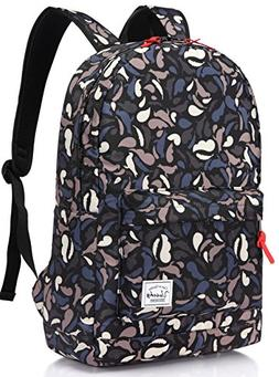 Backpack for girls,Vaschy Water Resistant Travel Cute Casual